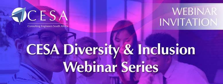 Join our Diversity Journey – CESA Diversity & Inclusion Webinar Series – 31 August 2020